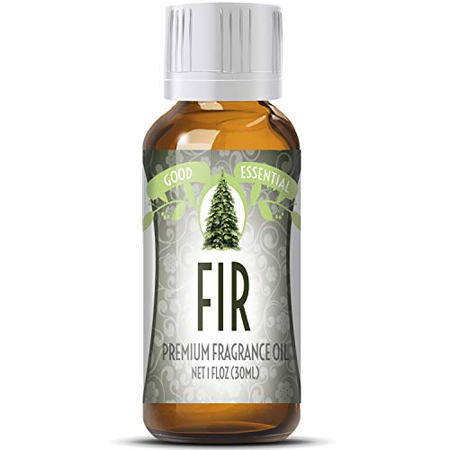 Fir Scented Oil by Good Essential (Huge 1oz Bottle - Premium Grade Fragrance Oil) - Perfect for Aromatherapy, Soaps, Candles, Slime, Lotions, and More!