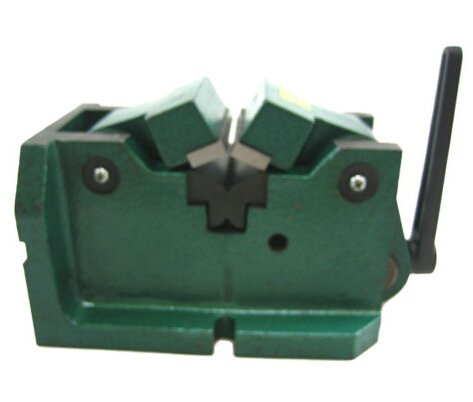 HFS (R) 4'' SELF CENTERING MILLING MACHINE VISE ROUND HARDENED by HFS