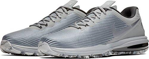 Nike Mens Air Max Full Ride Tr 1.5 Scarpa Da Allenamento Cool Grey / Metallic Cool Grey-black