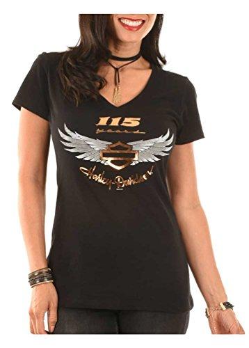 Anniversary Short Sleeve Tee - Harley-Davidson Women's 115th Anniversary Just Believe Short Sleeve Tee (S)
