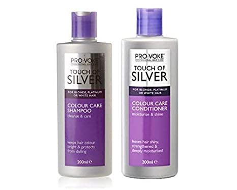Touch Of Silver Shampoo 200 Ml & Conditioner 200Ml by Provoke