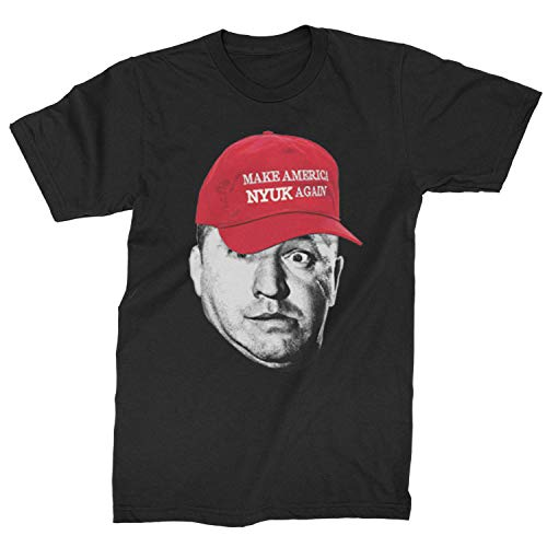 (Motivated Culture Mens Make America Nyuk Again 3 Stooges T-Shirt Medium)