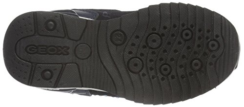 Geox J Maisie Girl C, Zapatillas Para Niñas Blau (NAVYC4002)