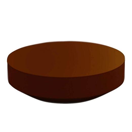 Vondom Vela mesa baja redonda diam.120 cm bronce: Amazon.es: Jardín