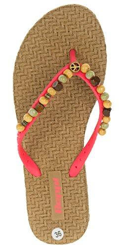 de Mujer Rojo Sintético EU para Rojo 37 Color de Vestir Beppi Talla Material Sandalias Rojo Z8wZt