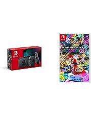 Nintendo Switch - Grey + Mario Kart 8 Deluxe