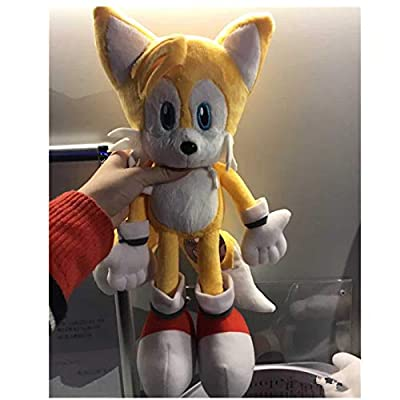 38cm Sonic's Friend Miles Prower Tails Stuffed Toys Plush Toy Dolls A Birthday Present for Your Child: Toys & Games