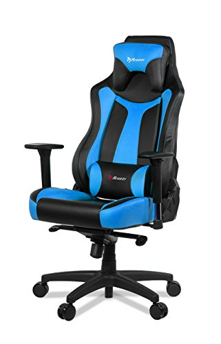 Arozzi VERNAZZA-BL - Vernazza Series Black/Blue Gaming Chair