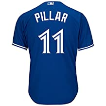 Women's Toronto Blue Jays Kevin Pillar Majestic Royal Official Cool Base Player Jersey