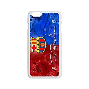 Happy FC BarcelonaCell Phone Case for Iphone 6