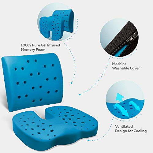 Buy tailbone support seat cushions