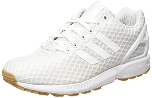 footwear Blanc Zx gum White Adulte Adidas Basses Mixte Flux Sneakers footwear White WzAOdqYqH