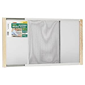 Frost King WB Marvin AWS1537 Adjustable Window Screen, 15in High x Fits 21-37in Wide