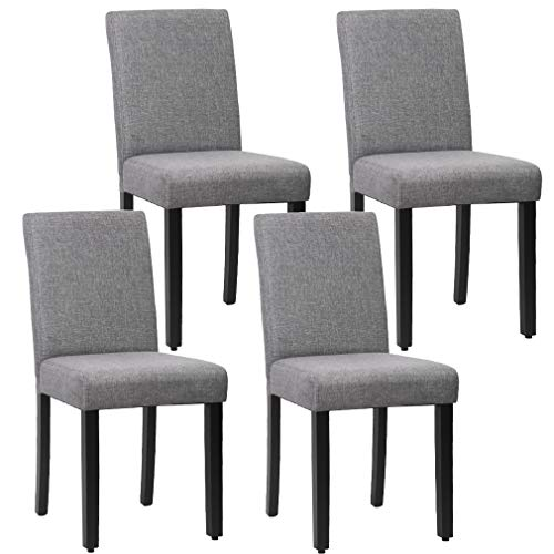FDW Dining Chairs Dining Room Chairs Parsons Chair Kitchen Chairs Set of 4 for Home Kitchen Living Room, ()
