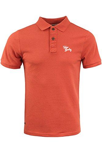 Tokyo Laundry-Herren-Shirt, Polo-Shirt Gr. M / 96,52 cm-101,60 cm, Paprika