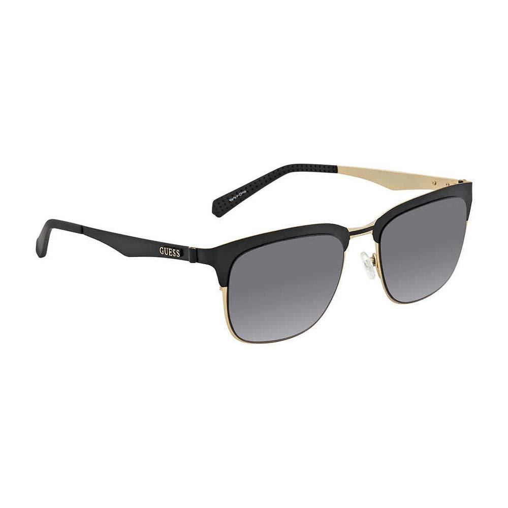 f897146aaa31 Amazon.com  Guess Metal Frame Smoke Gradient Lens Men s Sunglasses  GU690005B5218  Watches