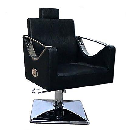Negro Silla de salón estilo moda Peluquería Peluquería -9850 ...