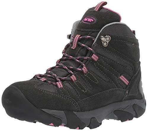 ADTEC Women's Composite Toe Hiking Boot & Work Boots, Waterproof, Pink, 6.5