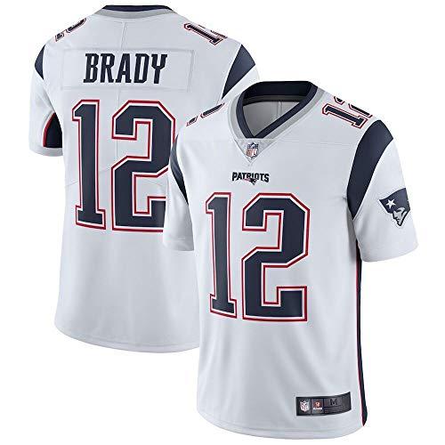 6f301abf Tom Brady New England Patriots Limited Stitch Jersey - White (XL)