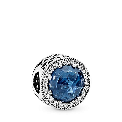 PANDORA Radiant Hearts Charm, Sterling Silver, Moonlight for sale  Delivered anywhere in USA