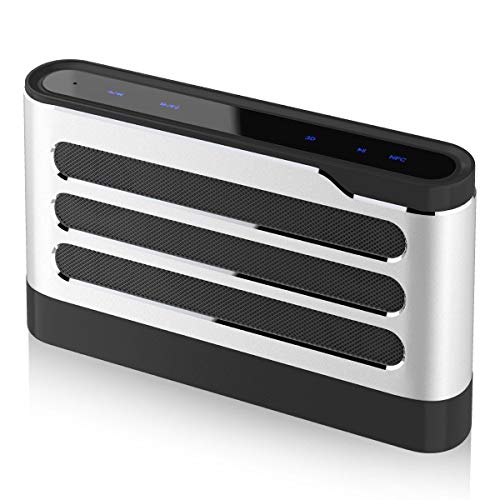 LFS 40W Bluetooth Speakers, Wireless Speakers with Digital Sound Field Processing(DSP), Surround Stereo Sound, Strong Bass for iPhone, iPad, Samsung, Nexus,Laptops and More