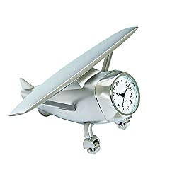Sanis Enterprises Hi Wing Private Airplane Clock, 4 by 2.75-Inch, V