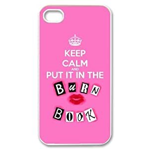 iphone 4/4s Covers Hard Back Protective-Cute Burn Book Case Perfect as Christmas gift(5)