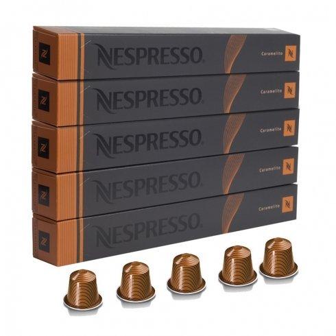 NESPRESSO 네스프레소 캡슐 커피 캐릭터 메리《도》 1개 10캡슐×5개 세트