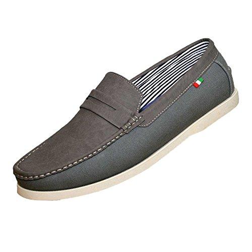 bateau homme Duke London Chaussures Gris pour pOFE1q