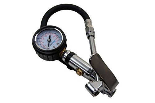 BERGEN Professional Tyre Inflator and Dial Gauge for Car Motorbike BER8801 by Bergen Tools