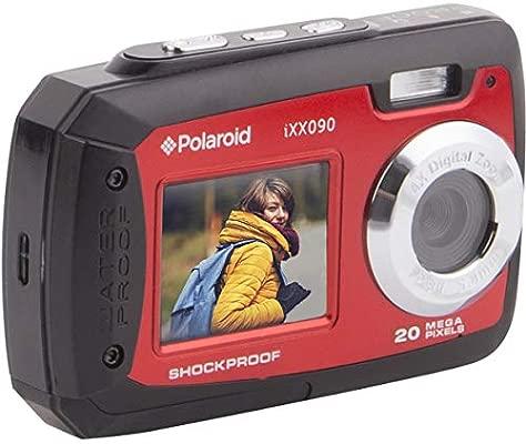 Polaroid iXX090 - Cámara Digital de Doble Pantalla (Resistente al ...