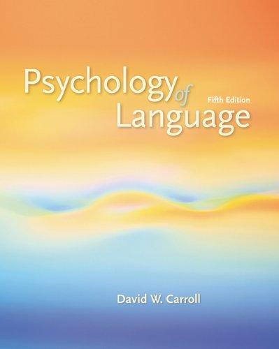 Download Psychology of Language Pdf