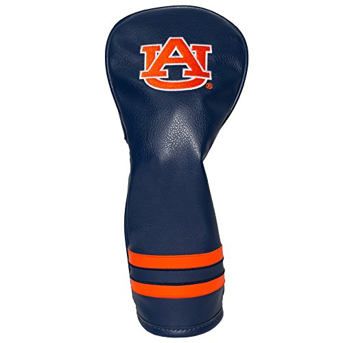 Team Golf NCAA Auburn University Tigers Vintage Fairway Golf Club Headcover, Form Fitting Design, Retro Design & Superb Embroidery