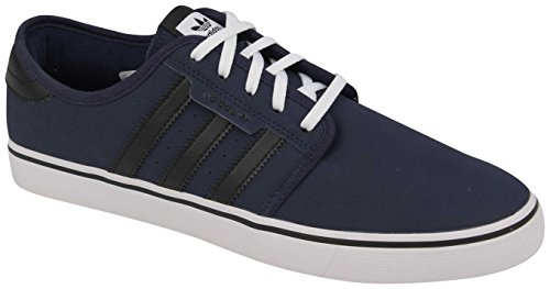 Adidas Seeley Shoe – Collegiate Navy / Black / White