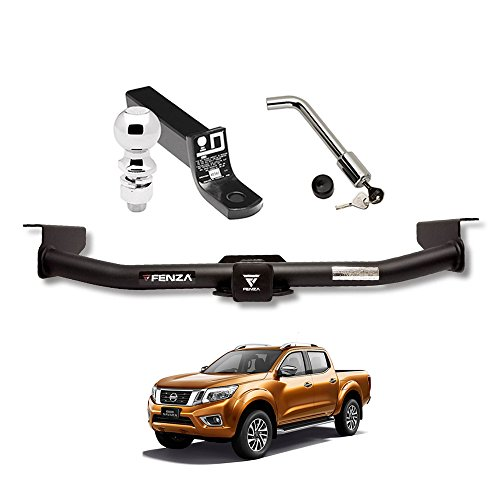 Towing Kit (Frame Receiver + Ball Mount + Pin Lock) for 2016-2018 Nissan NP300 Navara Frontier by Draw-Tite