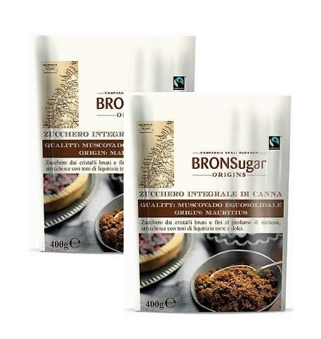 Compagnia degli Zuccheri Bronsugar Zucchero Integrale di Canna Qualità Muscovado Equosolidale Origine Mauritius… 1 spesavip