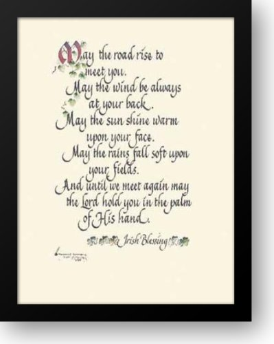 Irish Blessing 12x14 Framed Art Print by Simmons, Thomas ()