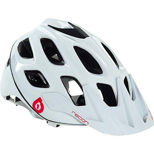 SixSixOne 661 Recon Scout Helmet White/Red S/M (Cpsc), ()
