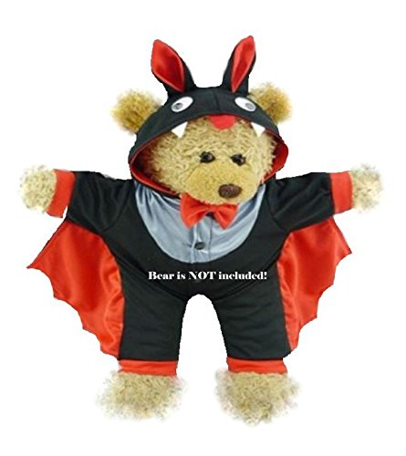 Build a Bear fit Halloween Costume Little Devil Vampire Bat for 15