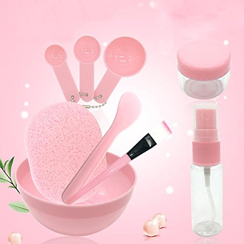 9 in 1 Face Care Facial Mask Mixing Bowl Kit Brush Spoon Stick Tool Set