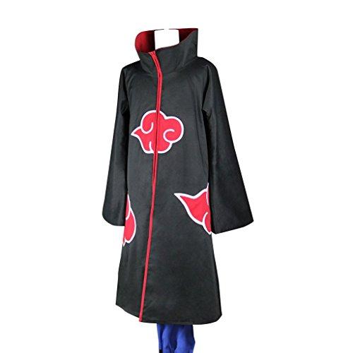 Holysteed NARUTO cosplay Costume Akatsuki Organization set Medium