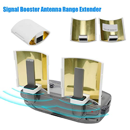 Cinhent Smart Booster High Power Remote Control Signal Booster Range Antenna Extender Amplifier for DJI Mavic 2/Pro/AIR/Spark Smart Controller Best Range Network