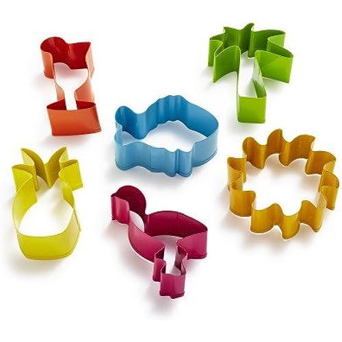 Sur La Table Mini Tropical Cookie Cutters LG0705 , Set of 6