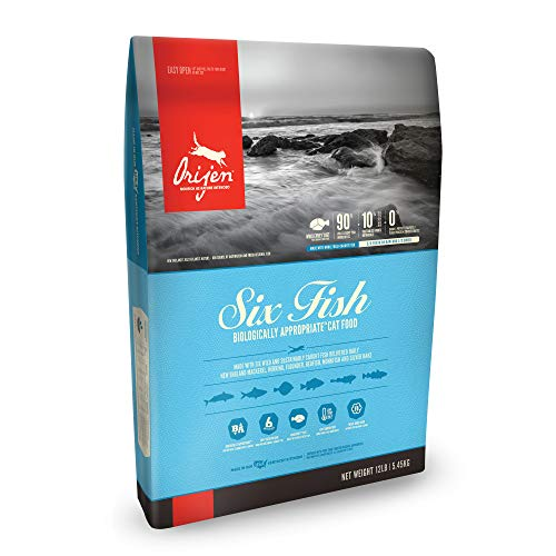 ORIJEN Dry Cat Food, Six Fish, Biologically Appropriate & Grain Free