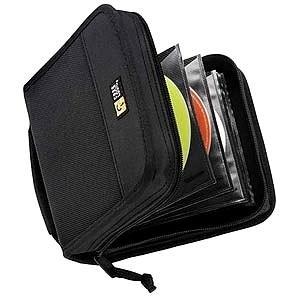 CASE LOGIC-PERSONAL & PORTABLE CDW-32 BLACK CASE LOGIC 32 BLACK NYLON CD ORGANIZER