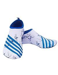 Unisex Mutifunctional Barefoot Flexible Quick-Dry Water Skin Shoes Aqua Socks for Beach Swim Surf