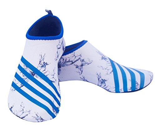 Panegy Männer Frauen Volltonfarbe Barfuß Wasser Haut Schuhe für Beach Swim Surf Yoga Übung Schmetterling weiß