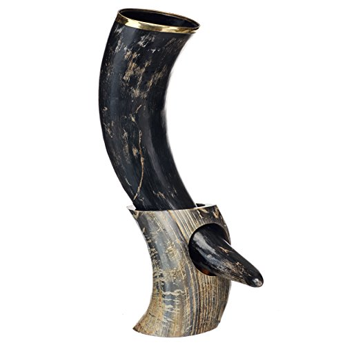 AleHorn Handcrafted Natural Drinking Horn product image
