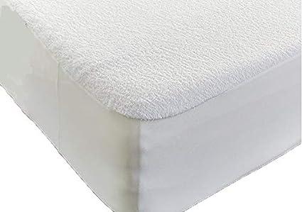 Haani High Quality Terry Towel Towelling 100% Waterproof Fitted Sheet Mattress Protector (Pillow Pair 48 x 73 cm) Papa Jones Ltd