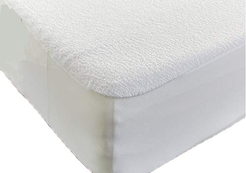 New High Quality Extra Deep Mattress Water Proof Terry Towel Fitted Protector Cover Available in All Sizes Single Night UK Limited
